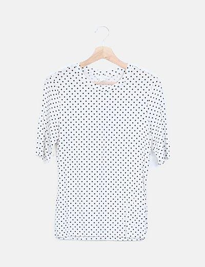 Camiseta topos manga francesa