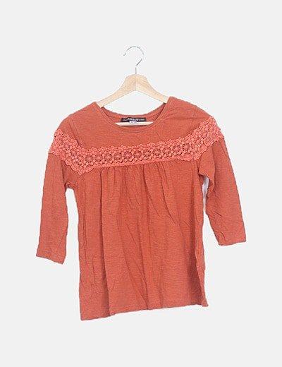 Camiseta caldera combinada crochet