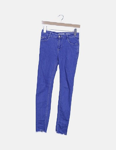 Jeans desflecado