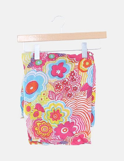 Pañuelo algodón multicolor