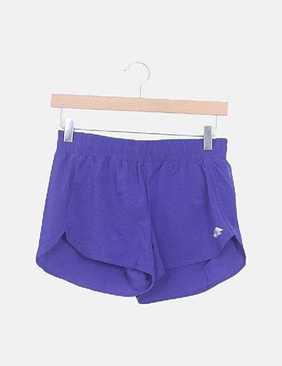 Shorts deportivo azul