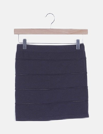 Falda tubo elástica negra