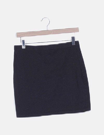 Mini falda deportiva negra