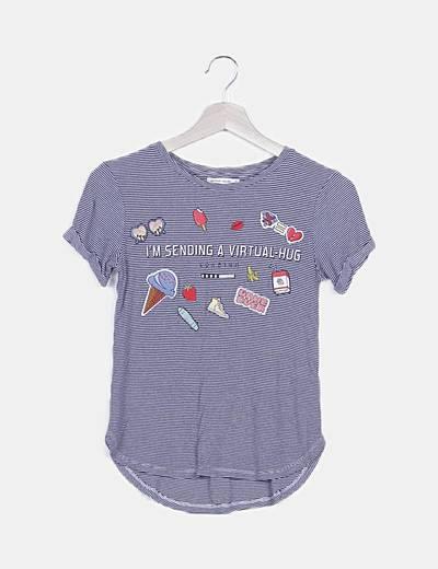 Camiseta parches