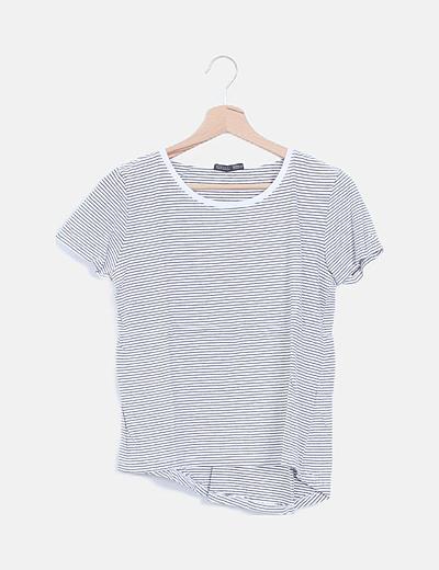 Camiseta navy manga corta
