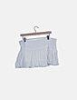 Mini falda lentejuelas blanco NoName