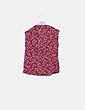Camisa roja estampada NoName