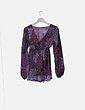 Blusa estampado multicolor Jane Norman