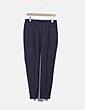 Pantalón gris recto Zara