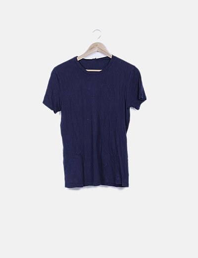 Camiseta azul marina