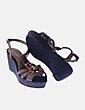 Sapatos de cunha Cortefiel