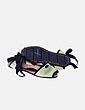 Sandalia plana verde lima lazada tobillo Couple&pie