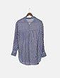 Camisa de rayas bicolor Bershka