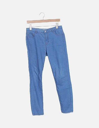 Jeans denim azul fluido