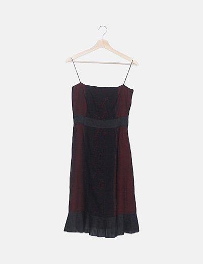 Vestido vaporoso negro