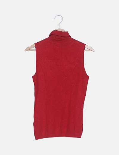 Camiseta tricot roja