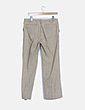 Pantalón beige rayas dipplomaticas Massimo Dutti