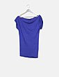 Camiseta larga azul NoName