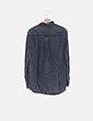 Sobre camisa gris efecto desgastada Zara
