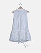 Vestido blanco combinado NoName