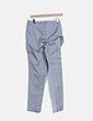 Pantalón gris pinzas cremallera lateral Tex Woman