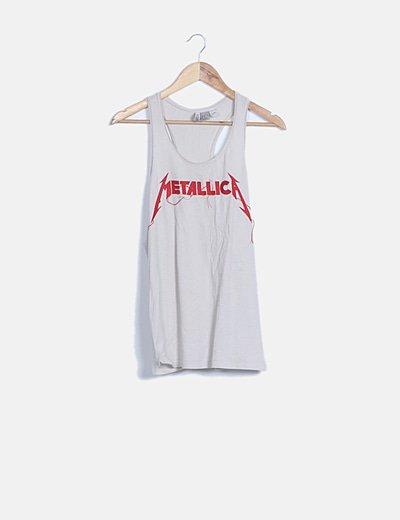 Top nadadora Metallica