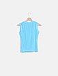Camiseta azul strass Excellent