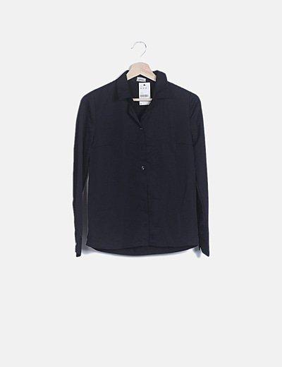 Camisa fluida negra