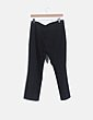 Pantalón chino negro Zara