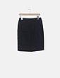 Falda midi negra H&M