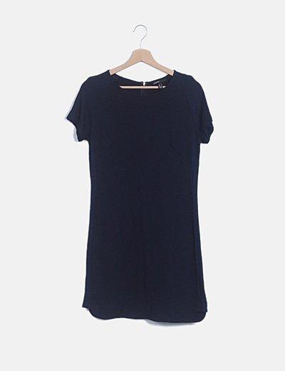 Vestido mini azul marino