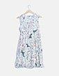 Vestido mini floral premamá H&M