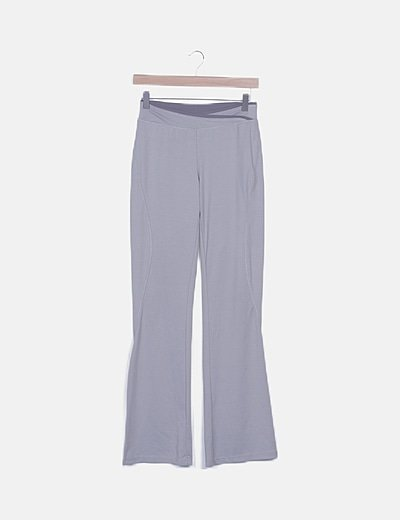 Pantalón deportivo gris
