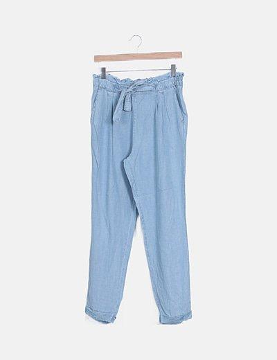 Pantalón baggy denim