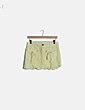 Falda mini amarilla Zara