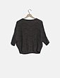 Jersey oversize tricot taupé Made in Italy