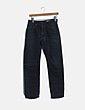 Pantalón denim oscuro recto H&M