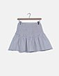 Conjunto top y falda blanco de rayas Glamorous