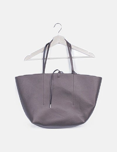 Bolso tote bronce