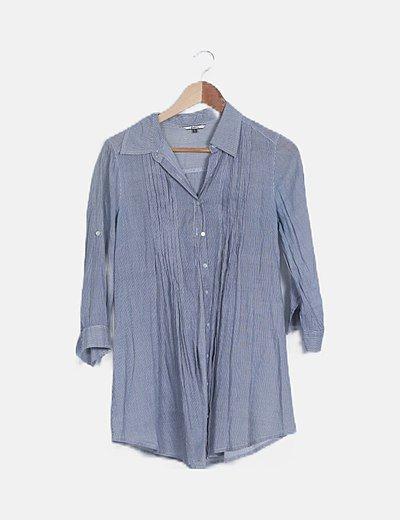 Camisola rayas azul