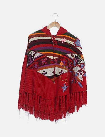 Savage Culture poncho