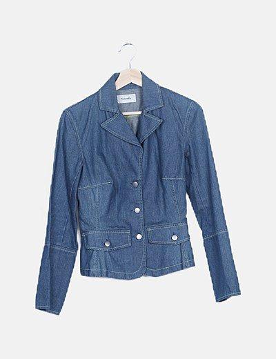 Veste en jeans Tintoretto