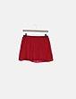 Falda mini roja fluida NoName