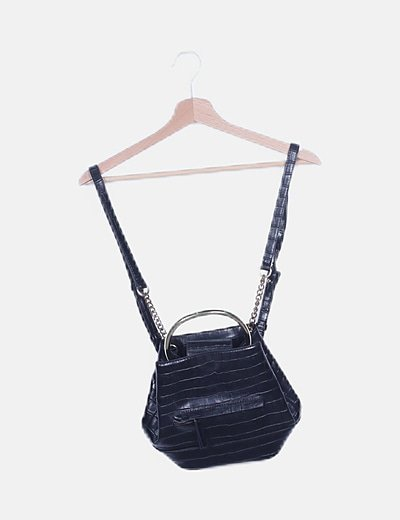 Mini mochila negra