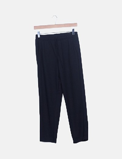 Pantalón deportivo negro