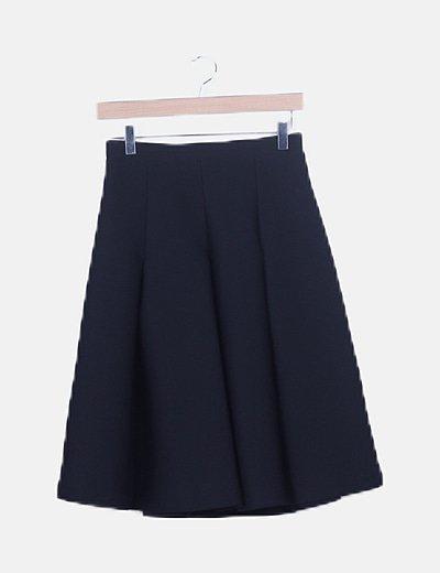 Falda neopreno negra