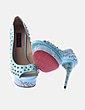 Zapato turquesa con tachas by Mare shoes