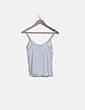 Camiseta blanca de tirantes Massimo Dutti