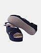 Sandalia plataforma negra Mods Plus