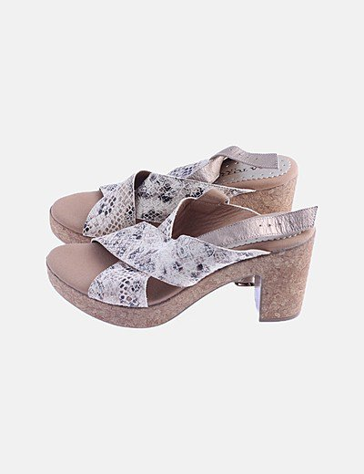 Lola Torres heeled sandals